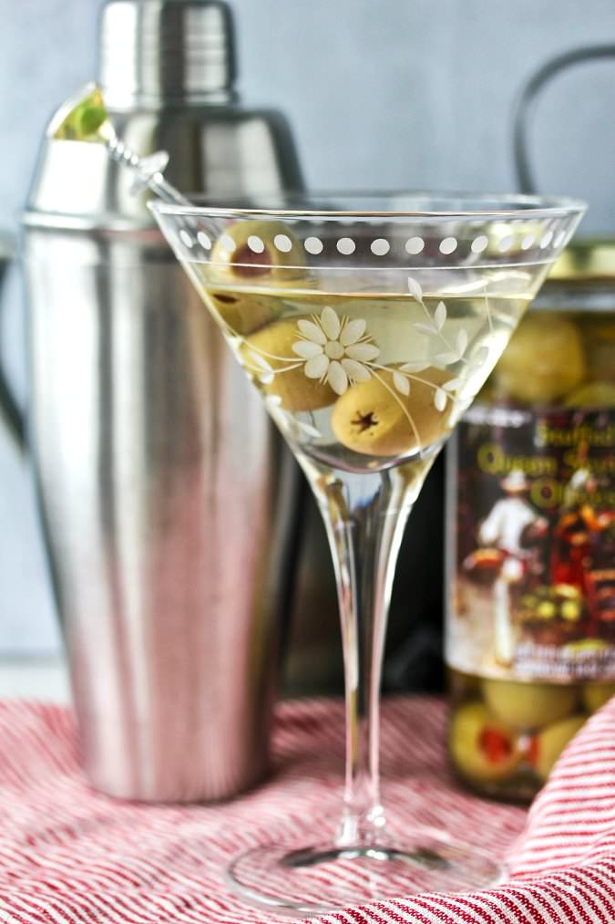 The Dirty Martini Cocktail