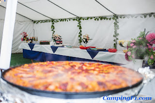 Paella and Barbeque at Camping F1 Monaco