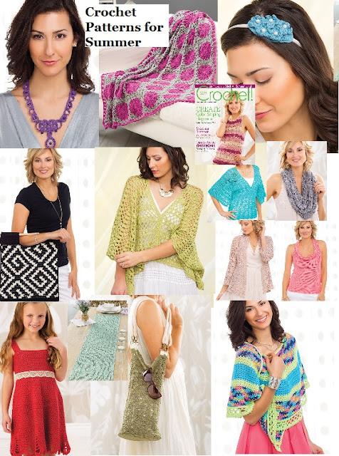 Download 26 Crochet Patterns for Summer