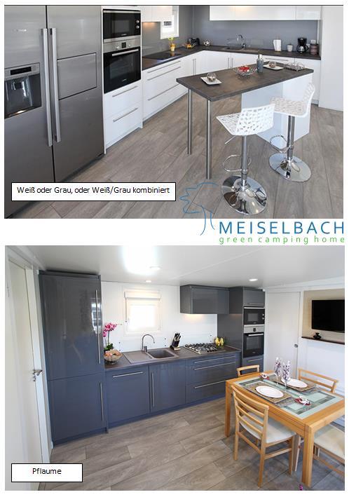 Meiselbach Mobilheime: Neue Küchen bei Nautilhome-Mobilheime