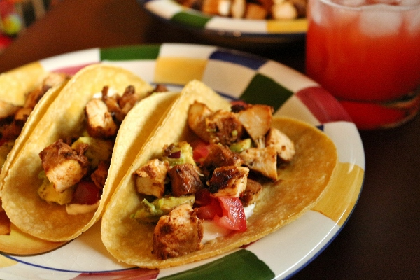 Mission: Food: Adobo-Marinated Chicken Tacos & Strawberry ...