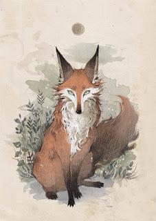 Francis est un esprit à l'apparence d'un renard
