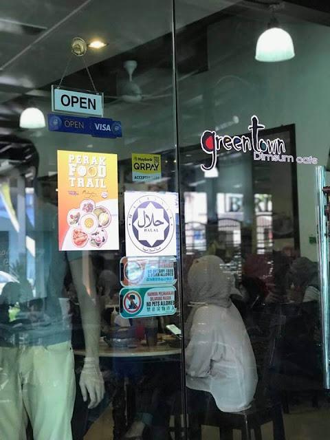 Green Town Dimsum Café. Halal