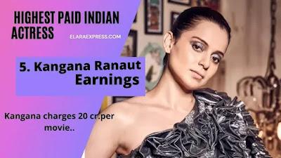 Kangana Ranaut Earnings Per Months