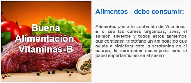 Alimentos con alto contenido de Vitaminas-B