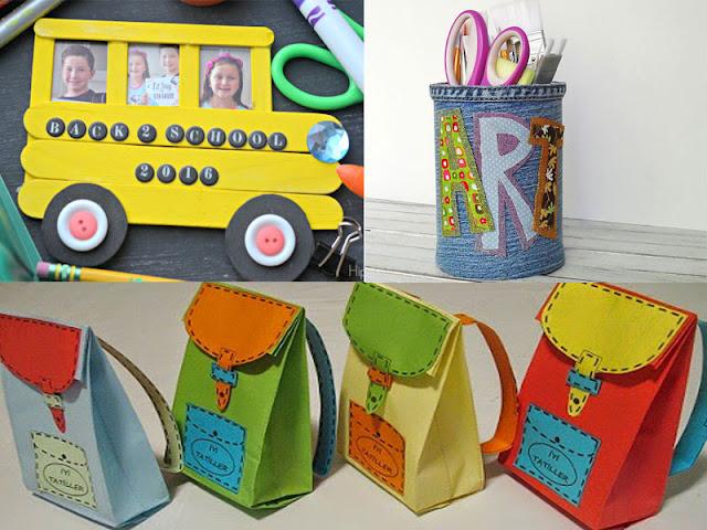 Lavoretti creativi per l'inizio della scuola