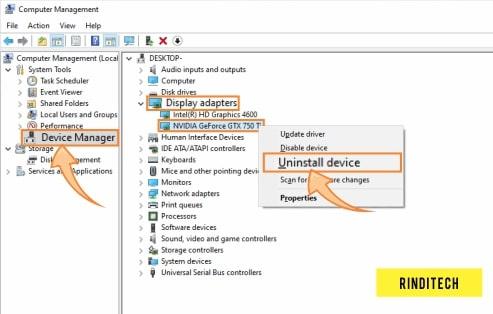 Mengatasi VGA Error Tidak Bisa Detect Driver di Windows