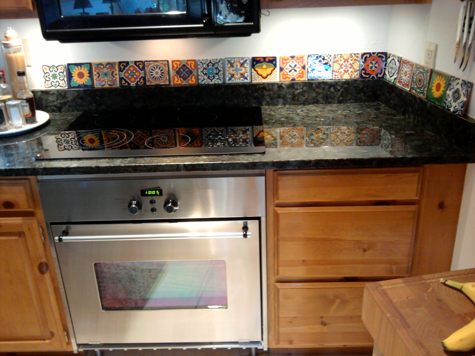 mexican backsplash tiles kitchen cabinet painting cost tile best home decoration