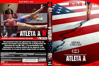 CARATULA ATLETA A -GIMNASTA A EL MEDICO DEPREDADOR - ATHLETE A 2020[COVER DVD]