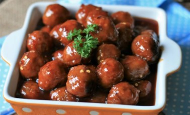 Carrot And Beef Cocktail Balls
