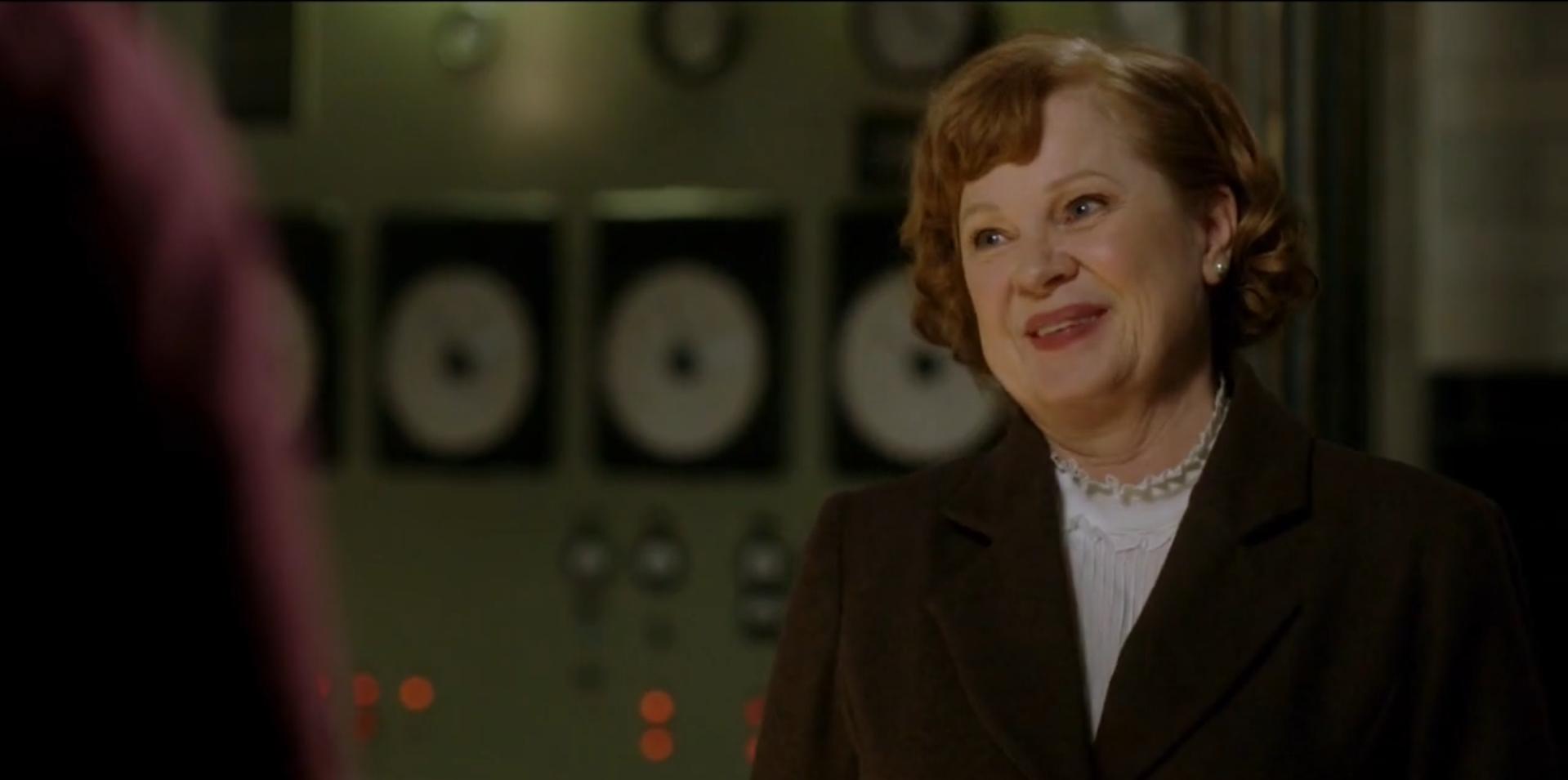 Миссис Баттерс в бункере Хранителей