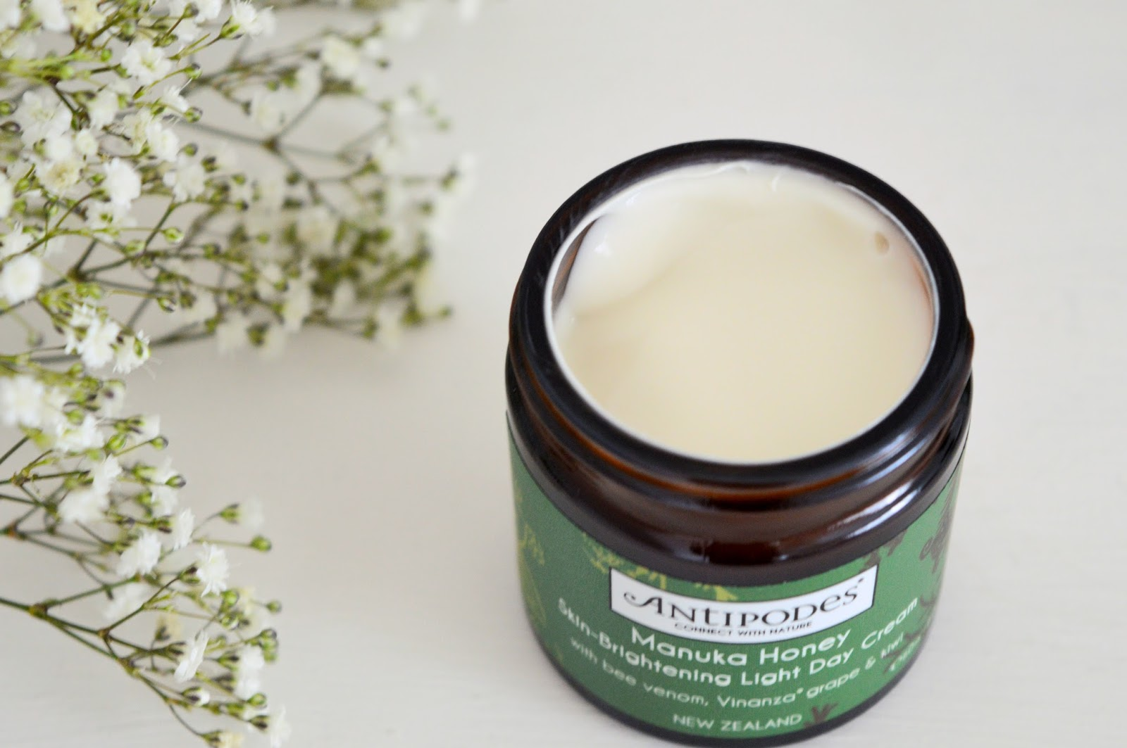 Antipodes Manuka Honey Skin Brightening Day Cream review, UK beauty blog