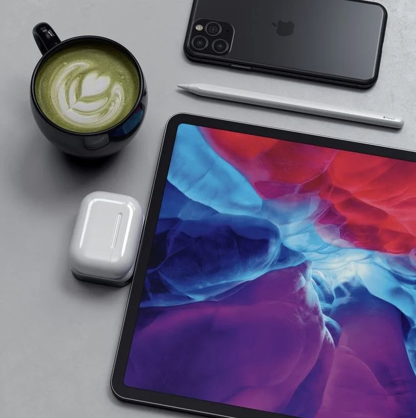 用 MacBook 或 iPad Pro 幫 AirPods 無線充電 - Satechi