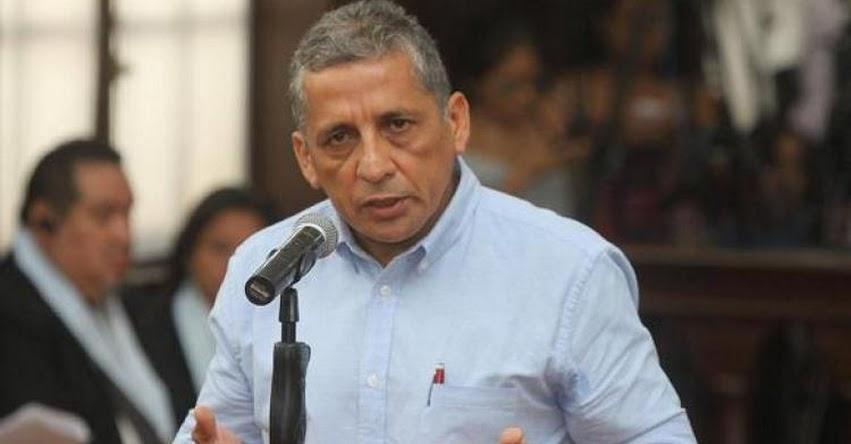 Congresista José Vega no descarta pedir indulto para Antauro Humala en el gobierno de Manuel Merino