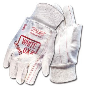 review white ox glove