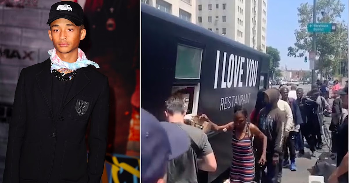Jaden Smith To Open New Vegan Restaurant In LA Offering Free Meals To The Homeless Following Success Of 'I Love You' Food Truck