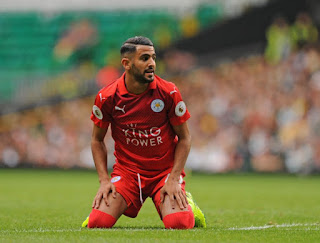 Riyad Mahrez started for Leicester in their pre-season game against Celtic