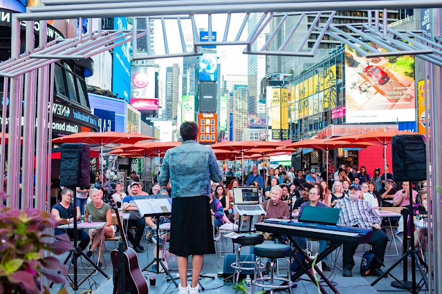 Times Square and bask in the ambience.