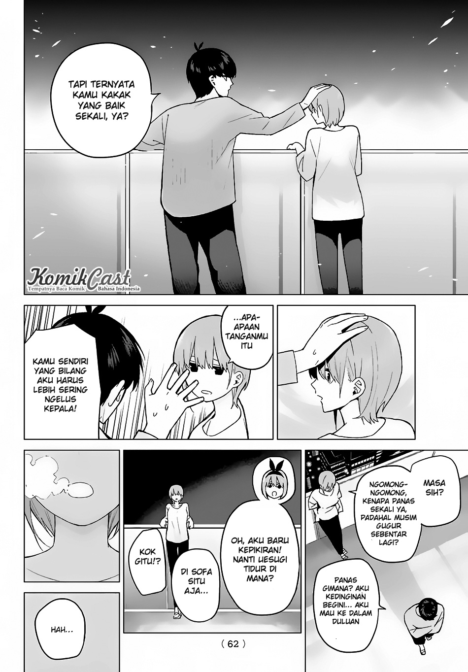 Baca Manga Go-Toubun No Hanayome Chapter 17 Bahasa Indonesia