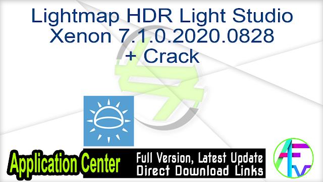 Lightmap HDR Light Studio Xenon 7.1.0.2020.0828 + Crack