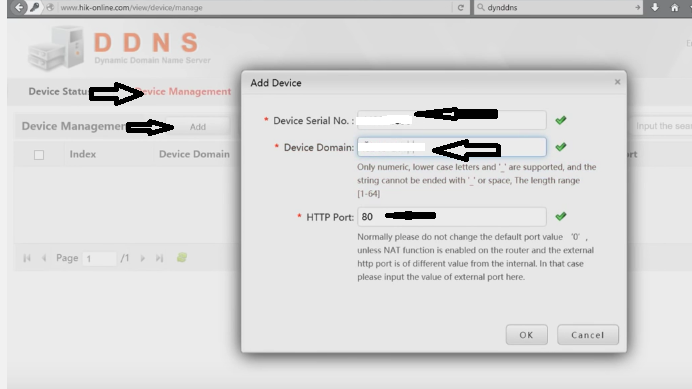 Configuration of Hikvision on internet for online | Online