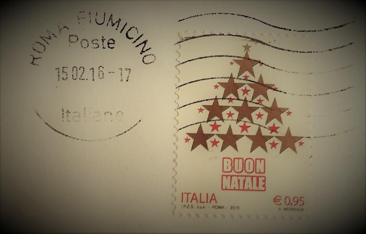 francobollo Buon Natale 2015