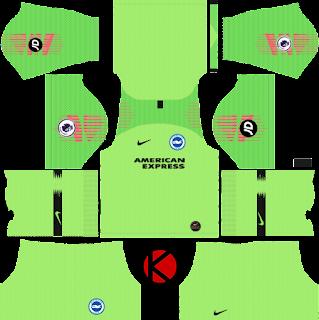 Brighton & Hove Albion FC 2019/2020 Kit - Dream League Soccer Kits