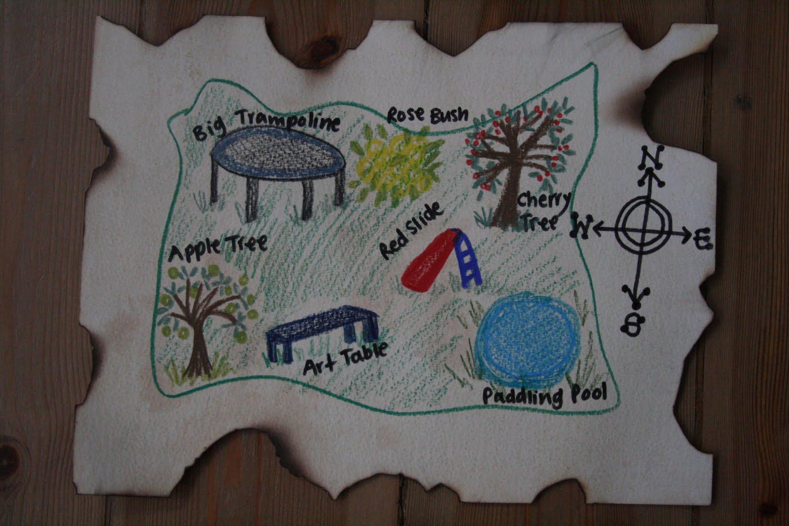 Garden Treasure Hunt Ideas