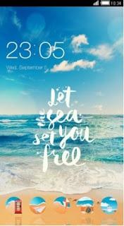 Tema Xiaomi Redmi 5A / Note 5A Terbaik - Pantai
