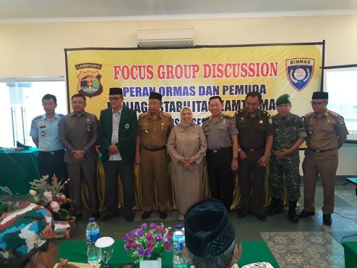 Foccus Group Discussion (FGD)  Himbau Suksesnya Pilkada Lampung 2018