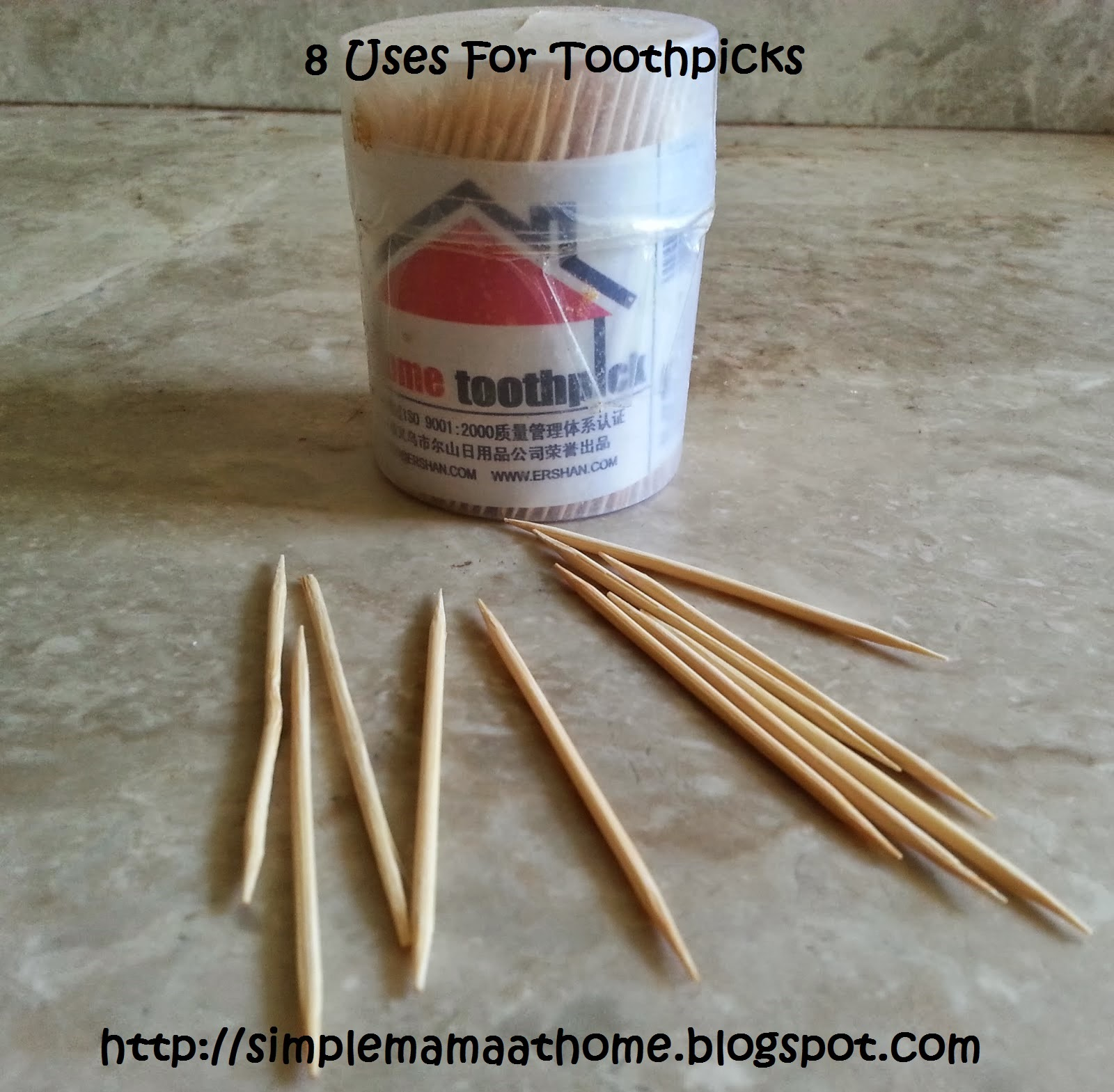 8 Uses For Toothpicks