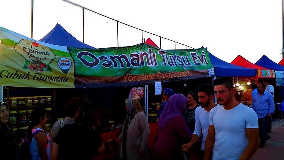 Osmanlı Turşu Evi Çubuk Turşu Festivalinde