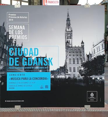 Oviedo. Premios Princesa de Asturias, Concordia: Ciudad de Gdansk