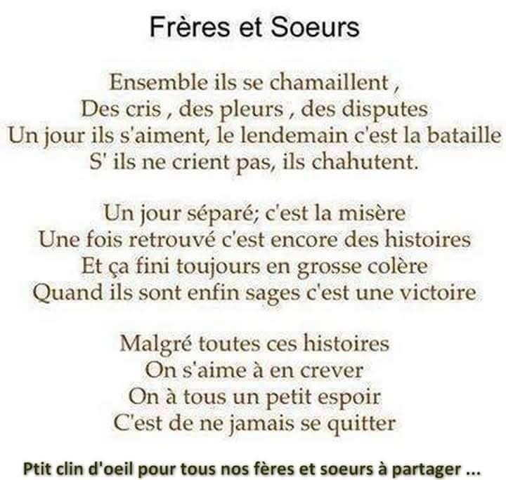 Favori poeme familiale | Poème d'amour SMS romantique ZR06