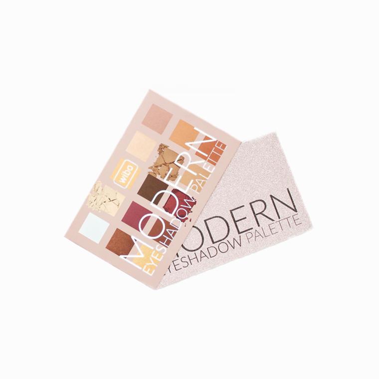 Paleta cieni do powiek Wibo Modern Eyeshadow Palette - recenzja opinie blog