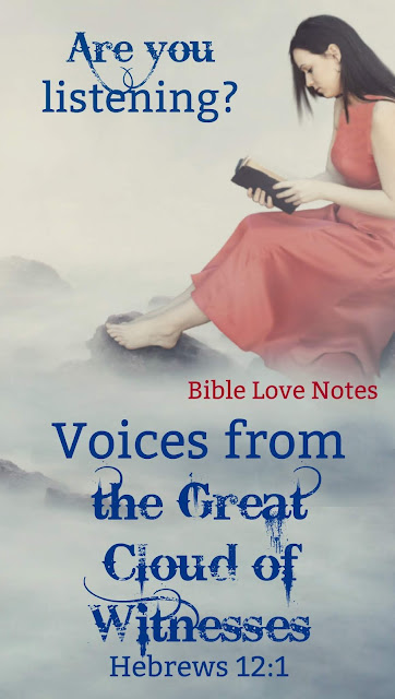 There are many discouraging voices in modern Christianity. This 1-minute devotion gives us some encouraging voices to spur us on to love and good deeds. #BibleLoveNotes #Bible #Devotions