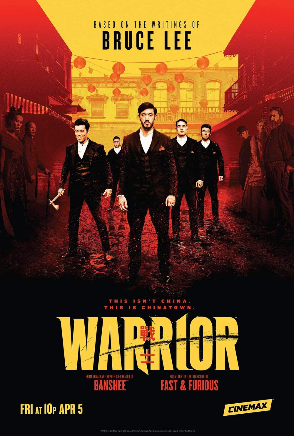 Warrior Temporada 1 Dual Subtitulado Latino 720p