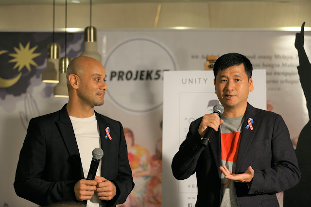 Projek57 co-founders, Syed Sadiq Albar and Collin Swee