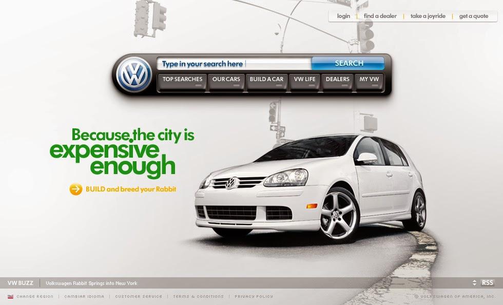 Pelun Chen - Interactive Art Direction and Design - Volkswagen