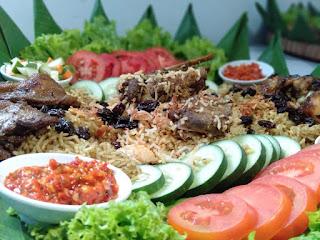 Nasi Mandi dan Nasi Biryani Warung Mujarab Magelang, Makanan khas Timur Tengah, Higienis, NON MSG, tapi rasanya tetap JUARAA..!!