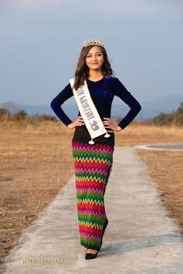 Zirsangpuii Miss Mizoram 2020