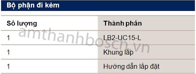 Loa hộp Bosch LB2-UC15-D1