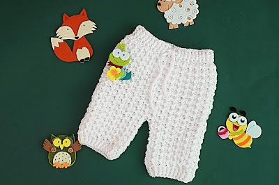 5 - Crochet Imagen Pantalones a crochet del conjunto blanco por Majovel Crochet