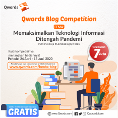 Qword Blog Competition -  24 April - 15 Juni 2020