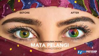cara mengubah warna di photoshop