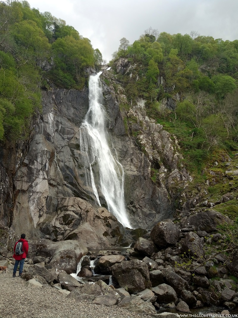Aber Falls in North Wales