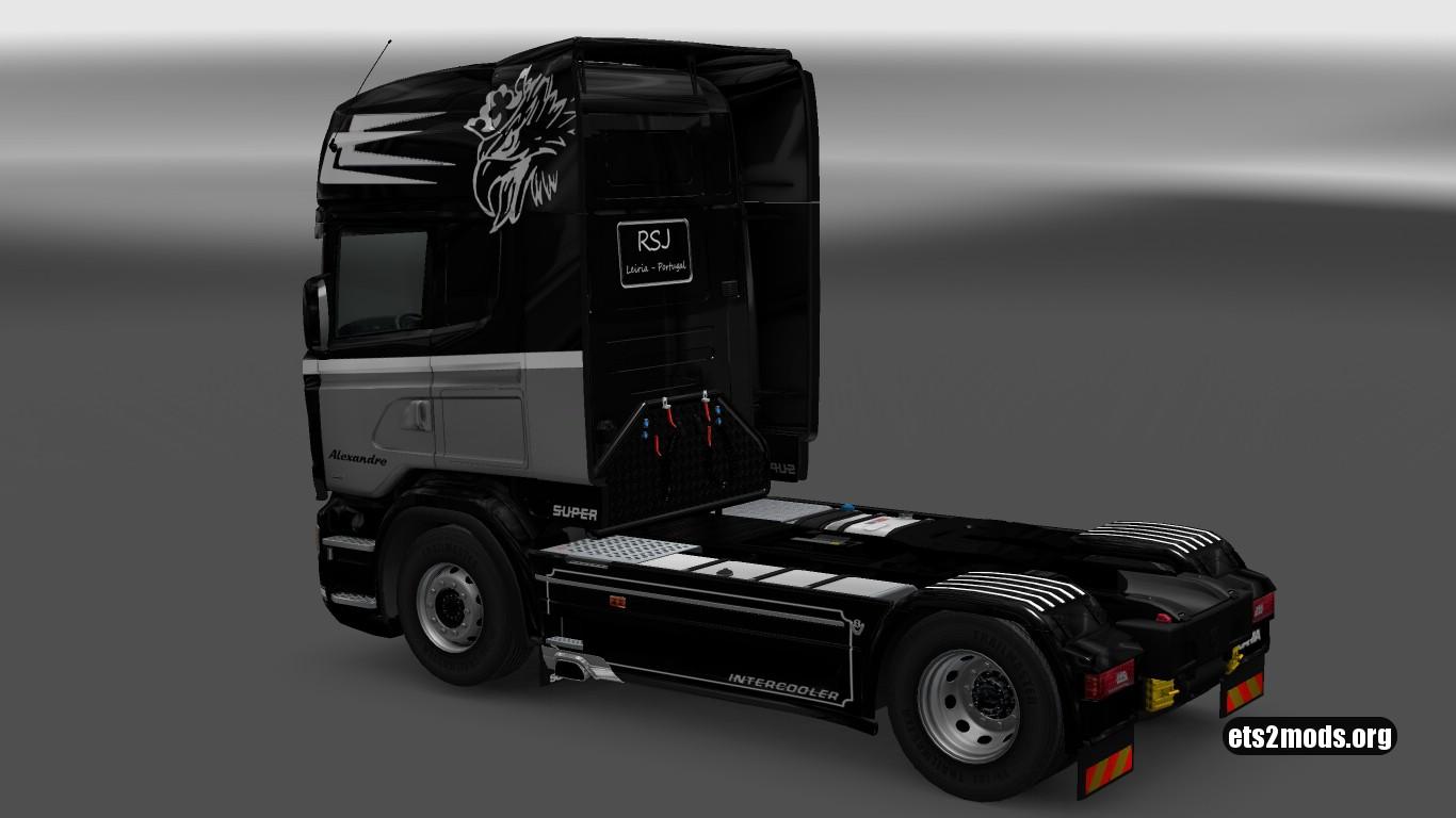 Scania RJL RSJ Skin