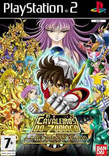 Cavaleiros Dos Zodiaco A Saga Santuário Dublado Versão Definitiva (PT-BR) PS2