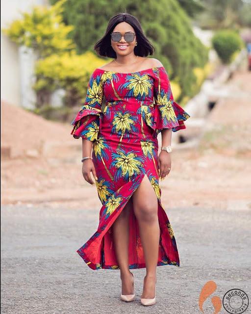 Long gown ankara styles