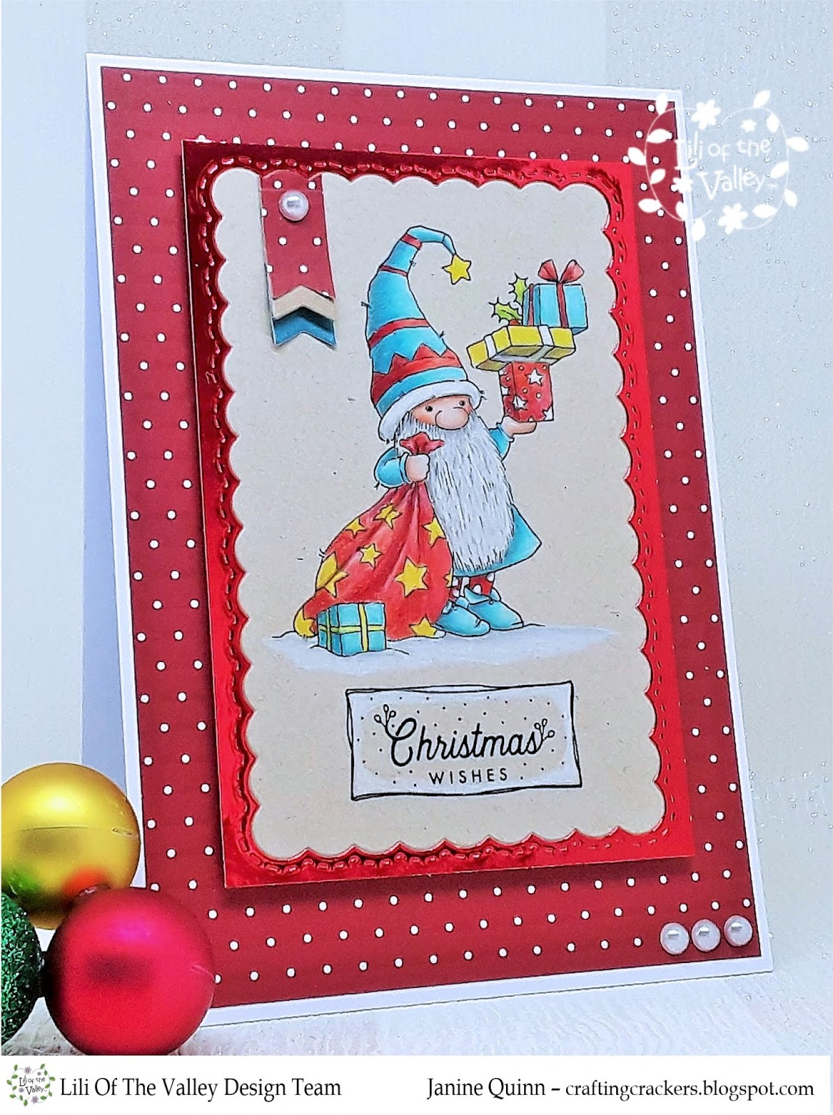 Christmas Stamps 2019.Crafting Crackers Lili Of The Valley Christmas Digi